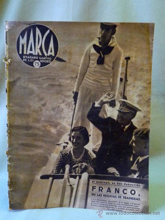 PERIODICO DEPORTIVO MARCA, 16 DE SEPTIEMBRE 1941, Nº 136, AÑO IV (Coleccionismo Deportivo - Revistas y Periódicos - Marca)