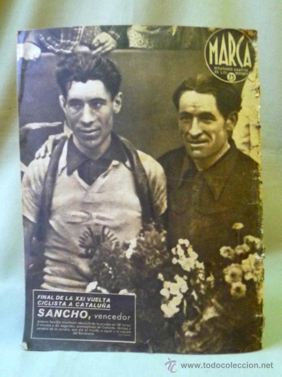 Coleccionismo deportivo: PERIODICO DEPORTIVO MARCA, 16 DE SEPTIEMBRE 1941, Nº 136, AÑO IV - Foto 3 - 24287577