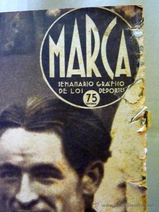 Coleccionismo deportivo: PERIODICO DEPORTIVO MARCA, 16 DE SEPTIEMBRE 1941, Nº 136, AÑO IV - Foto 4 - 24287577