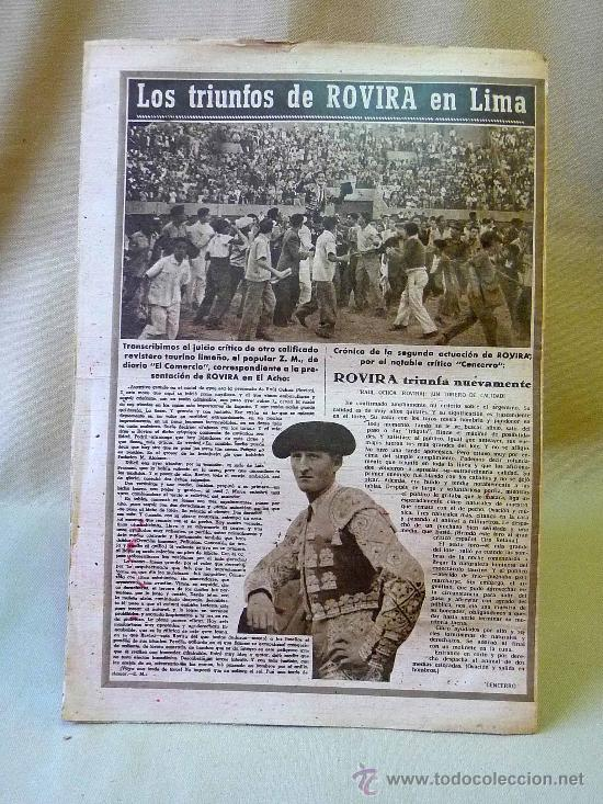 Coleccionismo deportivo: DEPORTIVO MARCA, 16 DE NOVIEMBRE 1947 - Foto 3 - 24275930