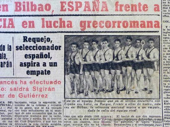 Coleccionismo deportivo: DEPORTIVO MARCA, 22 DE OCTUBRE 1953 - Foto 2 - 24274706