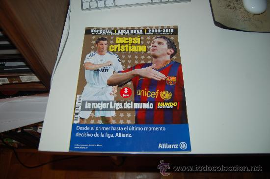 MUNDO DEPORTIVO: ESPECIAL LIGA 2009-2010 (Coleccionismo Deportivo - Revistas y Periódicos - Mundo Deportivo)