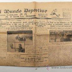 Coleccionismo deportivo: EL MUNDO DEPORTIVO, 18 MAYO 1928. Lote 24291263