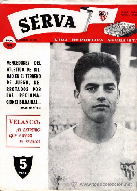 REVISTA SERVA - VIDA DEPORTIVA SEVILLISTA Nº 94 - DICIEMBRE 1964 - SEVILLA FC (Coleccionismo Deportivo - Revistas y Periódicos - Vida Deportiva)