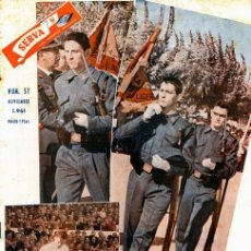 Coleccionismo deportivo: REVISTA SERVA - VIDA DEPORTIVA SEVILLISTA Nº 37 - NOVIEMBRE 1961 - SEVILLA FC. Lote 27038100