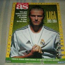Coleccionismo deportivo: REVISTA AS GUIA LIGA 2003-2004 . Lote 26555512
