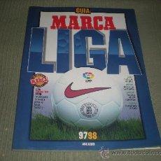 Coleccionismo deportivo: GUIA MARCA LIGA 97 98 .ANUARIO. Lote 27104371