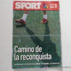 Coleccionismo deportivo: GUIA SPORT LIGA 2008 / 2009 08 / 09 CAMINO DE LA RECONQUISTA - REVISTA EXTRA . Lote 26839757