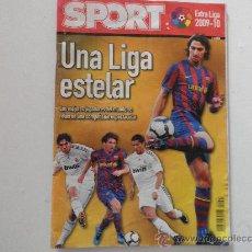 Coleccionismo deportivo: GUIA SPORT LIGA 2009 / 2010 09 / 10 UNA LIGA ESTELAR - REVISTA EXTRA . Lote 26839758
