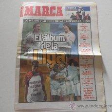 Coleccionismo deportivo: SUPLEMENTO EN PAPEL PERIODICO DE MARCA . RESUMEN DE LIGA 1998/1999 98/99. Lote 27343368