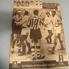 Coleccionismo deportivo: ATHLETIC BILBAO - PERIODICO VIDA DEPORTIVA, CAMPEON DE LIGA 1955-56!!!! JOYA HISTORICA DE 1956!!!!. Lote 56005689