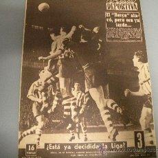 Coleccionismo deportivo: ATHLETIC BILBAO FC BARCELONA, ABRIL 1956,PARTIDO DECISIVO EN SAN MAMES PARA EL TITULO DE LIGA!!!. Lote 26888339