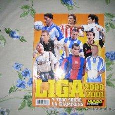 Coleccionismo deportivo: EXTRA LIGA MUNDO DEPORTIVO 2000 2001. Lote 25744052