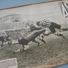 Coleccionismo deportivo: PERIODICO AS NUMERO 3!! ATHLETIC BILBAO CAMPEON DE COPA 1932 CONTRA BARCELONA FUTBOL VIZCAYA JOYA!!!. Lote 26274968
