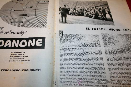 Coleccionismo deportivo: CLUB DE FUTBOL BARCELONA - BOLETIN OFICIAL - AÑO II - Nº 13 - MARZO 1963 - Foto 4 - 26372242