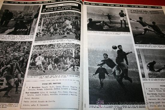 Coleccionismo deportivo: CLUB DE FUTBOL BARCELONA - BOLETIN OFICIAL - AÑO II - Nº 13 - MARZO 1963 - Foto 5 - 26372242