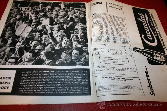 Coleccionismo deportivo: CLUB DE FUTBOL BARCELONA - BOLETIN OFICIAL - AÑO II - Nº 13 - MARZO 1963 - Foto 7 - 26372242
