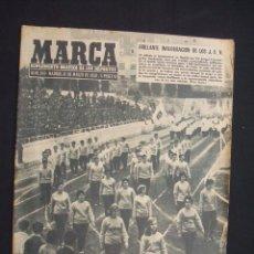 Coleccionismo deportivo: MARCA - Nº 849 - 10 MARZO 1959 - PORTADA: BRILLANTE INAGURACION DE LOS J.U.N. - . Lote 26856583