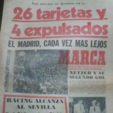Coleccionismo deportivo: DIARIO MARCA 10 MARZO 1975. Lote 27101697