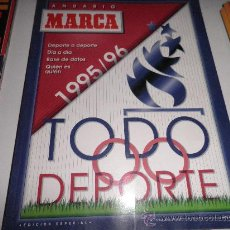 Coleccionismo deportivo - ANUARIO MARCA 1995 TODO DEPORTE 1995/96 - 27343086