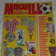 Coleccionismo deportivo: REVISTA ESPECIAL DON BALON (MERCADILLO) Nº 0 (NOVIEMBRE 1998). Lote 27243011