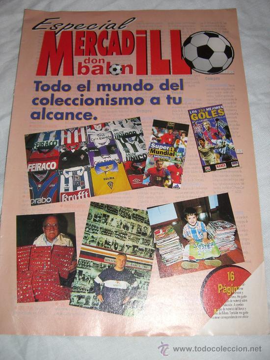 EXTRA ESPECIAL DON BALON (MERCADILLO) (Coleccionismo Deportivo - Revistas y Periódicos - Don Balón)