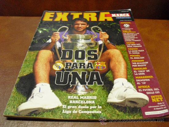 REV EXTRA-MARCA SUPL.1997 RPTJE .UEFA-CHAMPIONS, GENTO- CRUYFF,RONALDO,MARADONA-VER FOTOS- (Coleccionismo Deportivo - Revistas y Periódicos - Marca)