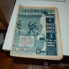 Coleccionismo deportivo: REVISTA LEAN Nº 534 ( 20 DE DICIEMBRE DE 1965 ): REAL MADRID 1-BARÇA 3. Lote 27446619