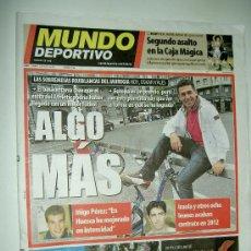 Coleccionismo deportivo: DIARIO MUNDO DEPORTIVO F.C. BARCELONA CAMPEON CHAMPIONS LEAGUE EUROPA 2010-2011 10-11 29-05-11. Lote 27520927