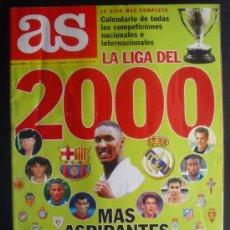 Coleccionismo deportivo: FÚTBOL. GUÍA AS. LIGA 2000.. Lote 98723390