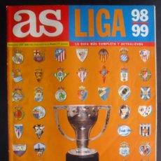 Coleccionismo deportivo: FÚTBOL. GUÍA AS. LIGA 1998-1999.. Lote 27768179