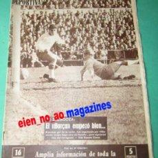Coleccionismo deportivo: VIDA DEPORTIVA 855/1962 ZARAGOZA~BARÇA~ESPAÑOL~ELCHE~SABADELL~BASCONIA~RUGBY~BALONCESTO~RALLY~BOXEO. Lote 27844221