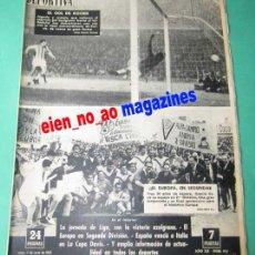 Coleccionismo deportivo: VIDA DEPORTIVA 925/1963 EUROPA SUBE A SEGUNDA~BARCELONA~VALLADOLID~BADALONA~COPA DAVIS TENIS~BOXEO. Lote 27844538