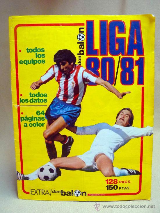 REVISTA, DON BALON, LIGA 80-81, EXTRA, EDITA GRADESA (Coleccionismo Deportivo - Revistas y Periódicos - Don Balón)