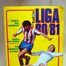 Coleccionismo deportivo: REVISTA, DON BALON, LIGA 80-81, EXTRA, EDITA GRADESA. Lote 27952726