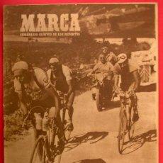 Coleccionismo deportivo: MARCA. SEMANARIO GRÁFICO DE LOS DEPORTES. 2 DE SEPTIEMBRE 1947.. Lote 27968036