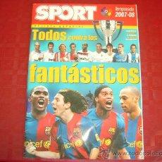 Coleccionismo deportivo: SPORT-ESPECIAL 2007/2008-TODOS CONTRA LOS FANTÁSTICOS.. Lote 28031989