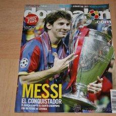 Coleccionismo deportivo: REVISTA DON BALÓN BARCELONA CAMPEÓN DE LA CHAMPIONS 2011. Lote 28202385