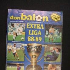 Coleccionismo deportivo: DON BALON - EXTRA LIGA 88-89 - AÑO XIV - EXTRA Nº 16 - . Lote 28348996
