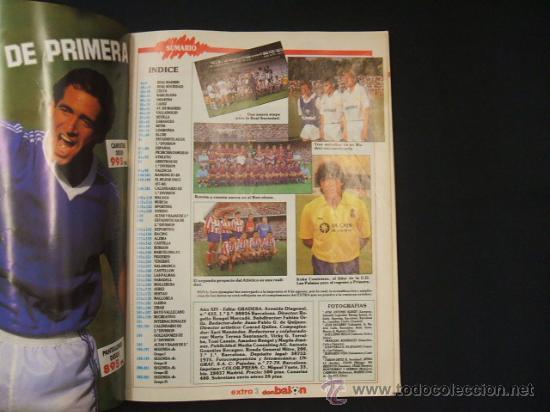 Coleccionismo deportivo: DON BALON - EXTRA LIGA 88-89 - AÑO XIV - EXTRA Nº 16 - - Foto 2 - 28348996