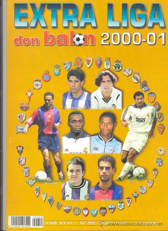 EXTRA LIGA 2000-2001 DON BALON (Coleccionismo Deportivo - Revistas y Periódicos - Don Balón)
