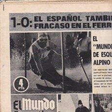 Coleccionismo deportivo: PERIODICO DEPORTIVO MUNDO DEPORTIVO 9-2-70. Lote 28438062