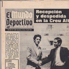 Coleccionismo deportivo: PERIODICO DEPORTIVO MUNDO DEPORTIVO24-4-70. Lote 28438087