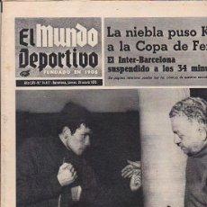 Coleccionismo deportivo: PERIODICO DEPORTIVO MUNDO DEPORTIVO 29-1-70. Lote 28438108