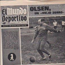 Coleccionismo deportivo: PERIODICO DEPORTIVO MUNDO DEPORTIVO 4-1-70. Lote 28438138