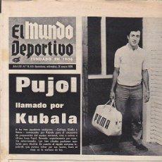 Coleccionismo deportivo: PERIODICO DEPORTIVO MUNDO DEPORTIVO 21-1-70. Lote 28438171