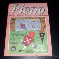 Coleccionismo deportivo: PLENO - REVISTA DEPORTIVA INFORMACION QUINIELISTA - NUM 947 - JORNADA 26 - 16 FEBRERO 1987. Lote 28441194