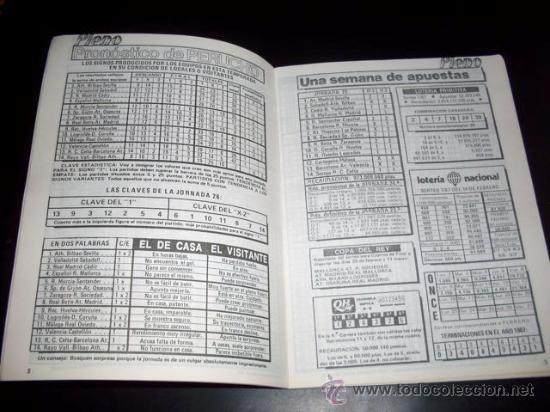 Coleccionismo deportivo: PLENO - REVISTA DEPORTIVA INFORMACION QUINIELISTA - NUM 947 - JORNADA 26 - 16 FEBRERO 1987 - Foto 3 - 28441194