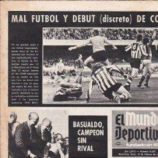 Coleccionismo deportivo: PERIODICO DEPORTIVO MUNDO DEPORTIVO 19-2-73. Lote 28492256