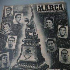 Coleccionismo deportivo: DIARIO MARCA, BARCELONA CAMPEON LIGA 1958-59, REAL MADRID, ATLETICO, DERBI!!!!!!. Lote 28654011